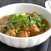 Indian chicken curry