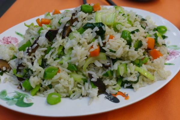 Veg fried rice Restoran Dragon View